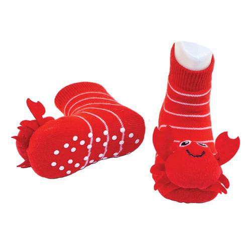 Boogie Toes - Red Crabby-Accessories - Socks-Piero Liventi-0-12M-Eden Lifestyle