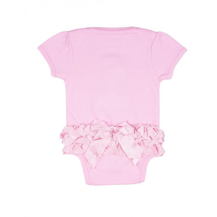Ruffle Butts, Baby Girl Apparel - One-Pieces,  First Birthday - Pink