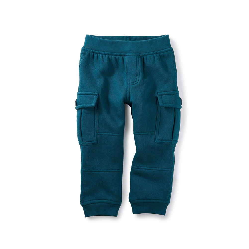 Fleece Cargo Joggers-Baby Boy Apparel - Pants-Tea Collection-6-9M-Eden Lifestyle