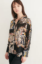 Week&, Women - Shirts & Tops,  Flower Button Up