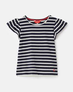 Joules, Girl - Shirts & Tops,  Joules Flutter Top