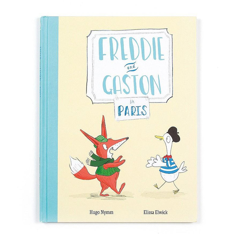 Jellycat Freddie and Gaston Go to Paris Book-Books-Jellycat-Eden Lifestyle
