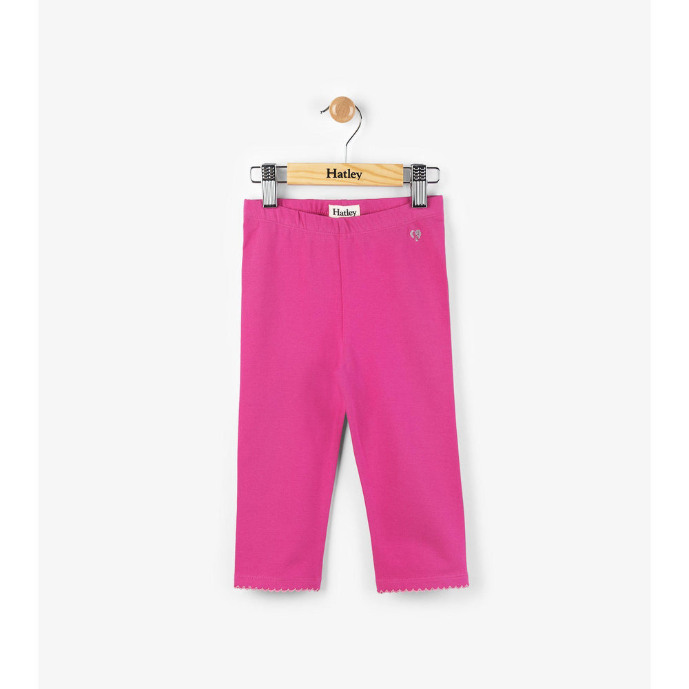 Hatley, Girl - Leggings,  Hatley Fuchsia Summer Capri Leggings