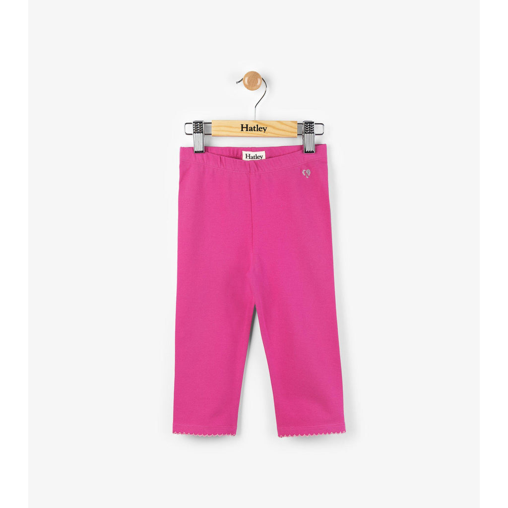 Hatley Fuchsia Summer Capri Leggings-Girl - Leggings-Hatley-2-Eden Lifestyle