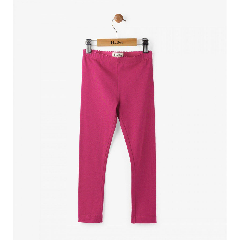 Hatley Fuschia Legging-Girl - Leggings-Hatley-2-Eden Lifestyle