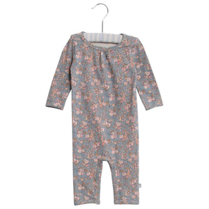 Wheat, Baby Girl Apparel - Rompers,  Wheat Long Sleeve Jumpsuit Gatherings DOve