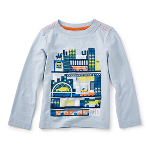 Glasgow Graphic Tee-Baby Boy Apparel - Tees-Tea Collection-3-6M-Eden Lifestyle