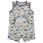 Gone Fishing Romper-Baby Boy Apparel - Rompers-Mud Pie-0-3M-Eden Lifestyle