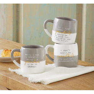 Mud Pie, Home - Drinkware,  Funny Grandparents Mugs
