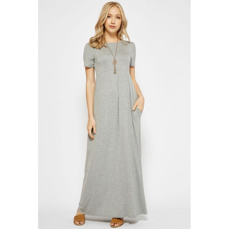 aa978f441d Everyday Maxi-Women - Dresses-Eden Lifestyle-L-Heather Gray-Eden