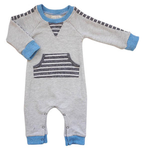 Miki Miette, Baby Boy Apparel - One-Pieces,  Miki Miette Gregg Romper Onward