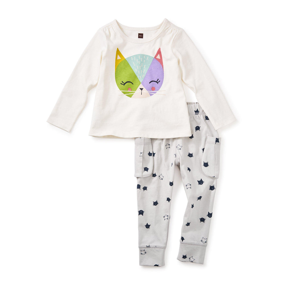 Hamish Baby Outfit-Baby Girl Apparel - Outfit Sets-Tea Collection-3-6M-Eden Lifestyle
