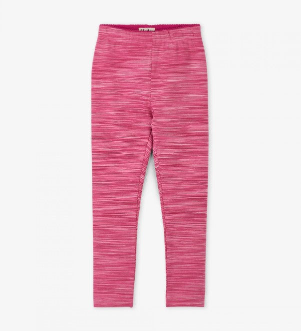 Hatley - Pink Space Dye Leggings