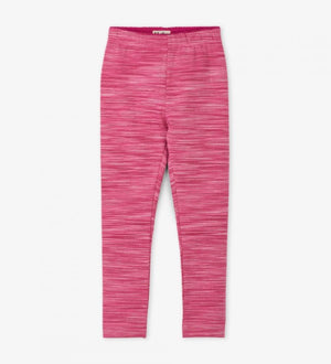 Hatley, Girl - Leggings,  Hatley - Pink Space Dye Leggings