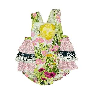 Haute Baby Sunsuit-Baby Girl Apparel - Rompers-Haute Baby-3-6M-Eden Lifestyle