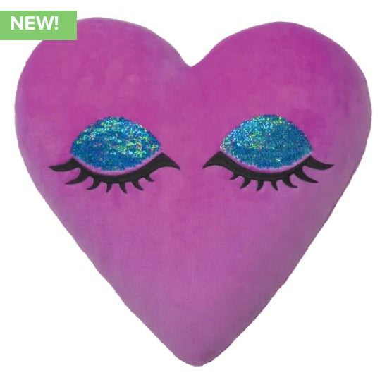 Heart Eyes Scented Reversible Sequin Pillow-Gifts - Kids Misc-Iscream-Eden Lifestyle