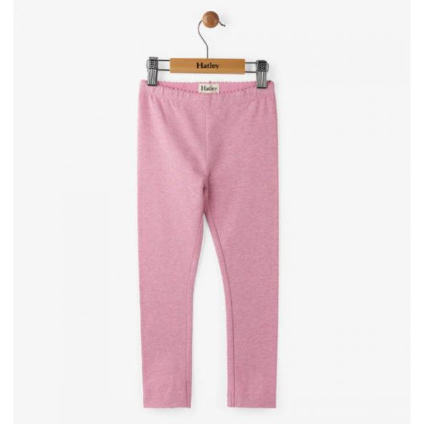 Hatley, Girl - Leggings,  Hatley Heather Pink Legging