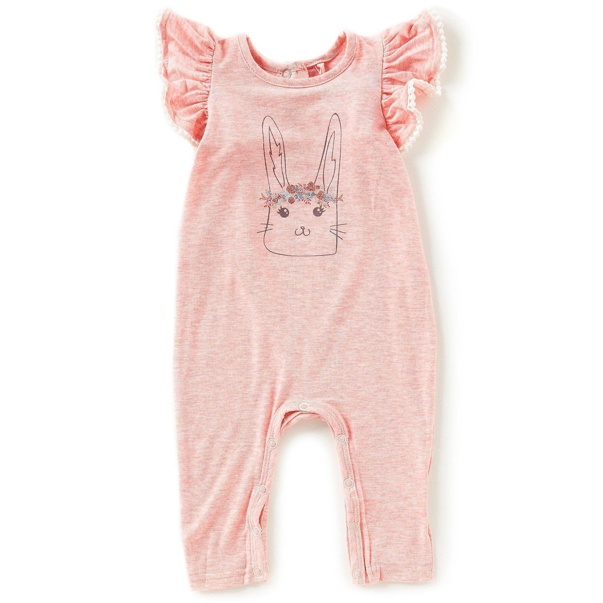 6ec10277275f Heathered Coverall-Baby Girl Apparel - Rompers-Jessica Simpson-0-3M-