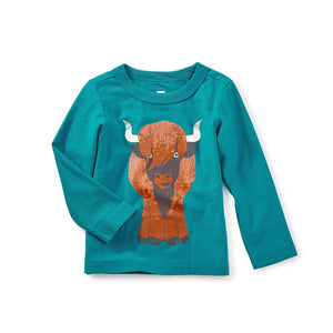 Heeland Coo Graphic Tee-Baby Boy Apparel - Tees-Tea Collection-3-6M-Eden Lifestyle