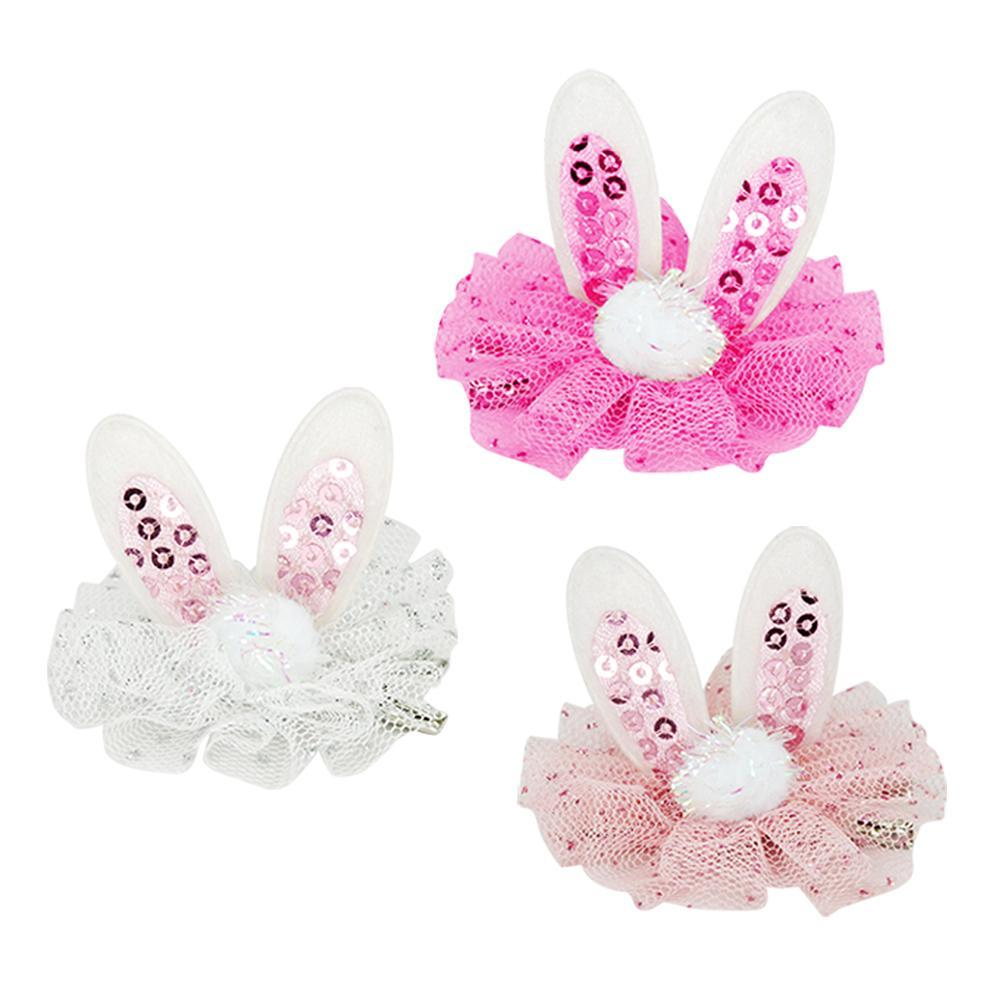 Hunny Bunny Hair Clip-Accessories - Bows & Headbands-Eden Lifestyle-Light Pink-Eden Lifestyle