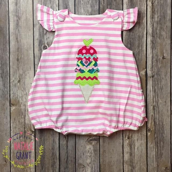 e74e8420467 Ice Cream Bubble - Romper