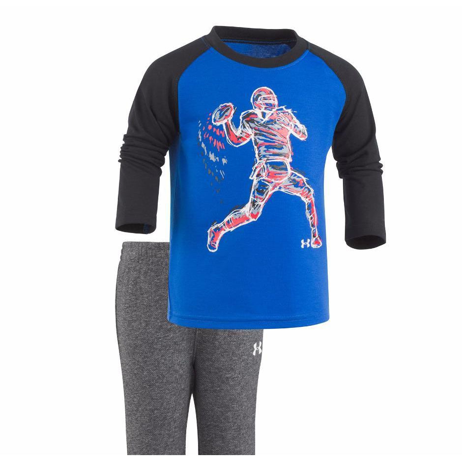 Illuminated QB Set-Baby Boy Apparel - Outfit Sets-Under Armour-0-3M-Eden Lifestyle