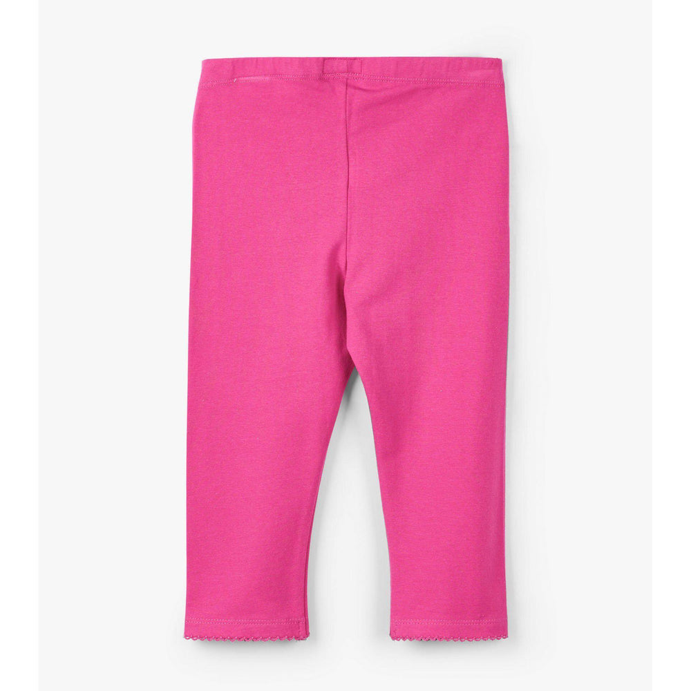 Hatley, Girl - Leggings,  Hatley Hot Pink Capri Leggings