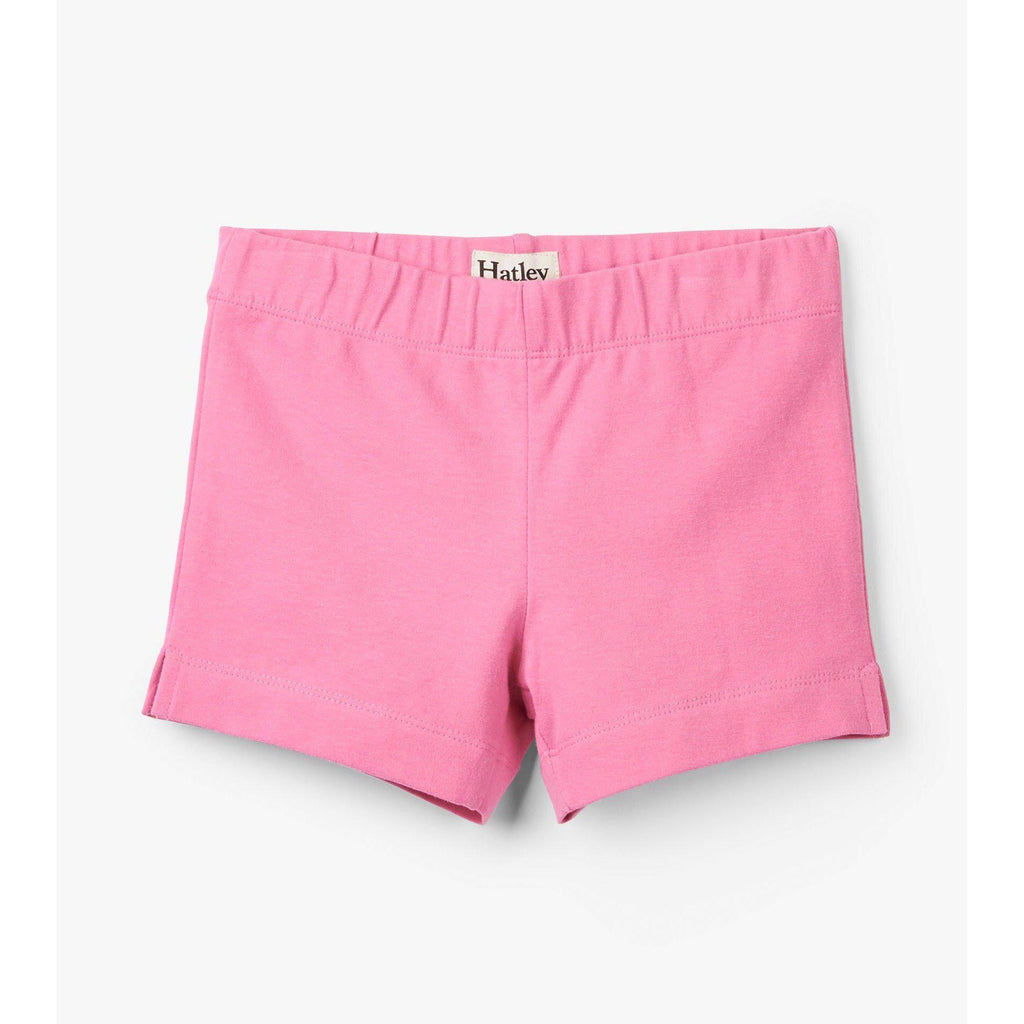 Pink Bicycle Shorts-Girl - Shorts-Hatley-4-Eden Lifestyle
