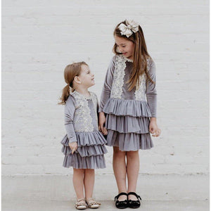 Pretty in Lace Dress-Girl - Dresses-Mae Li Rose-2T-Eden Lifestyle