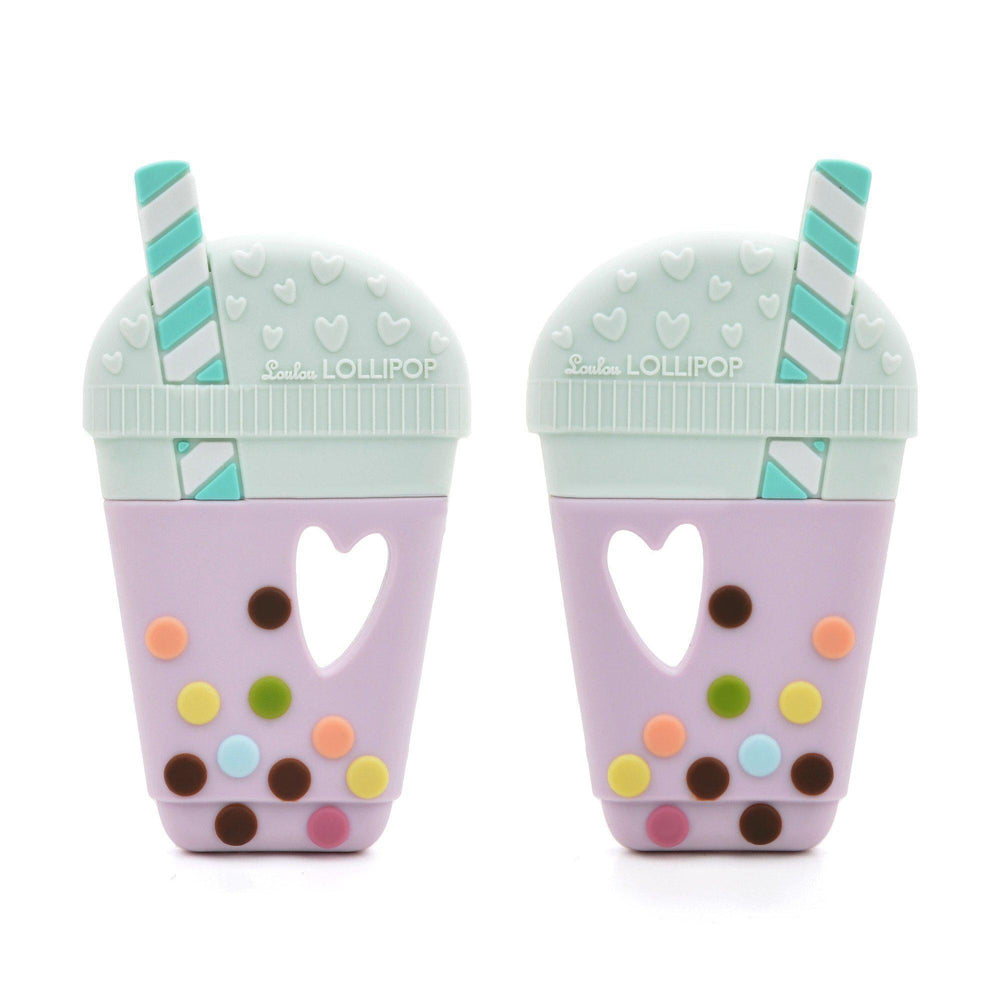 Loulou LOLLIPOP - Teether - Bubble Tea-Baby - Teethers-Loulou Lollipop-Eden Lifestyle