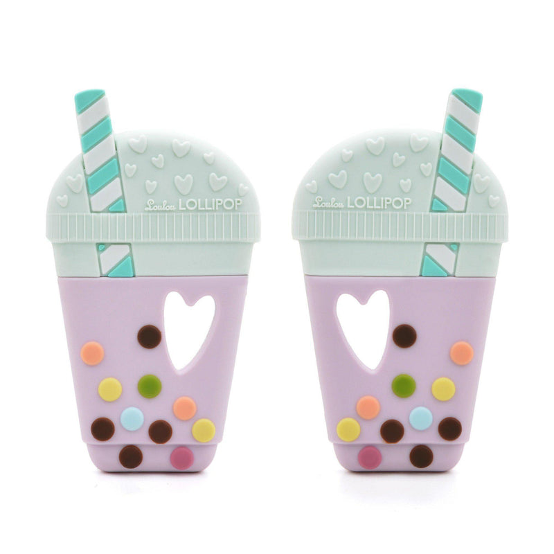 Loulou LOLLIPOP - Teether - Bubble Tea