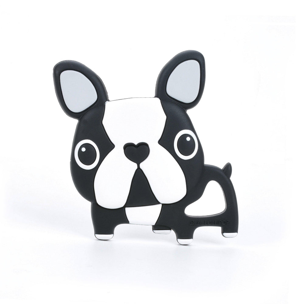 Loulou LOLLIPOP - Teether - Black Boston Terrier-Baby - Teethers-Loulou Lollipop-Eden Lifestyle