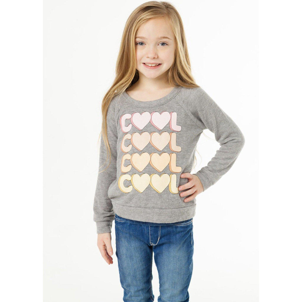 Chaser Girls Cool Pullover-Girl - Shirts & Tops-Chaser-4-Eden Lifestyle