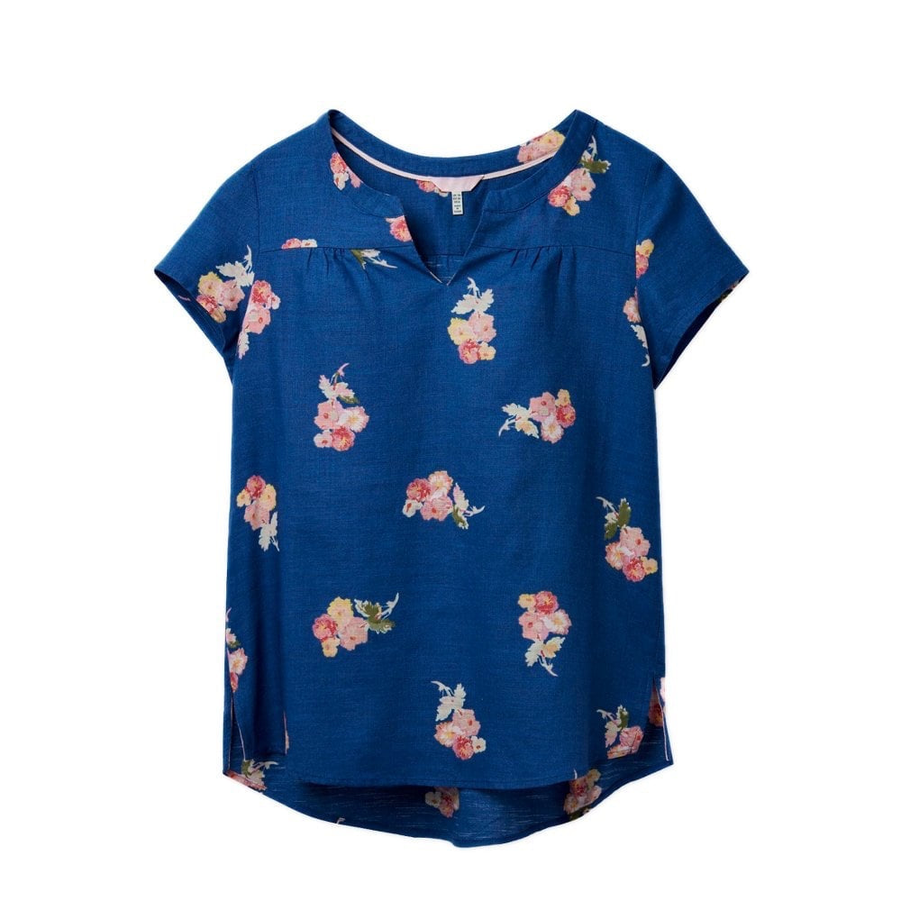 Joules, Women - Shirts & Tops,  Gemma Blueposy Top