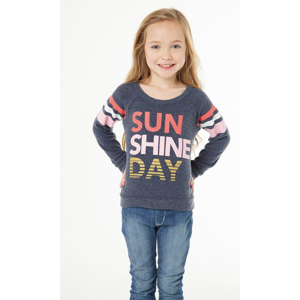Chaser Girls Sunshine Day Pullover-Girl - Shirts & Tops-Chaser-4-Eden Lifestyle