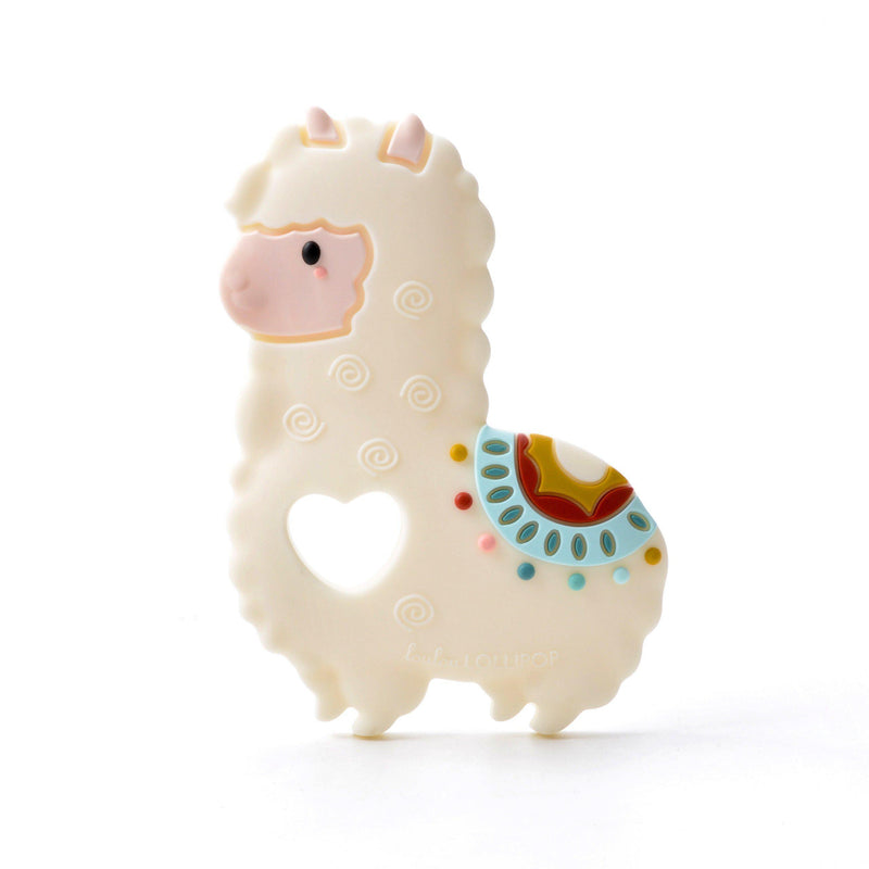 Loulou LOLLIPOP - Teether - Llama
