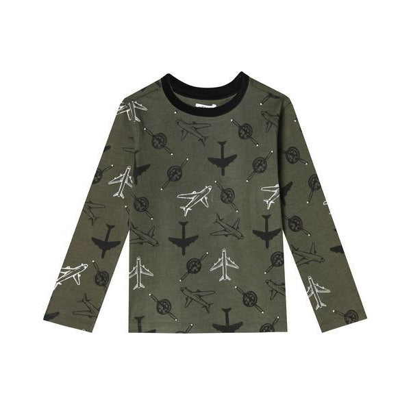 Flight Long Sleeve Tee-Boy - Tees-Art & Eden-9-12M-Eden Lifestyle