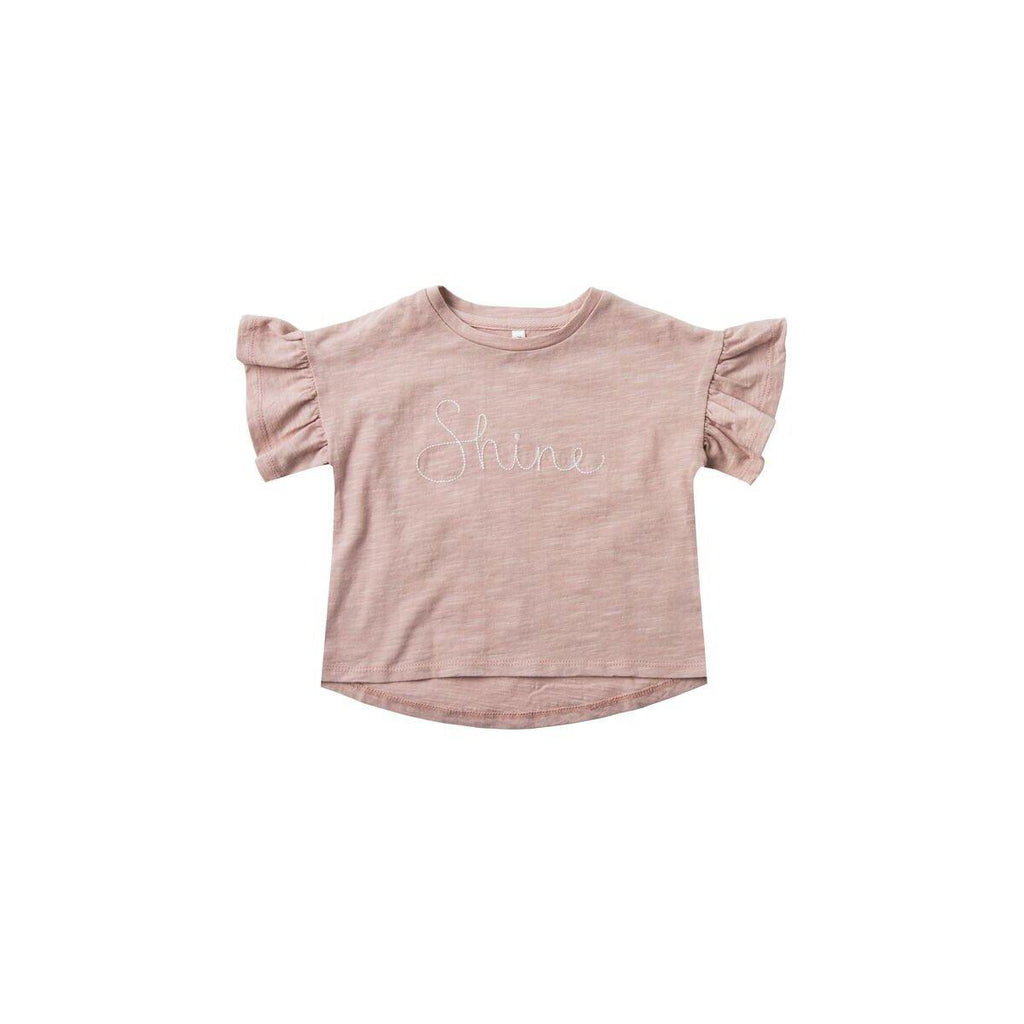 Rylee and Cru Shine Flutter Tee-Baby Girl Apparel - Tees-Rylee and Cru-6-12M-Eden Lifestyle
