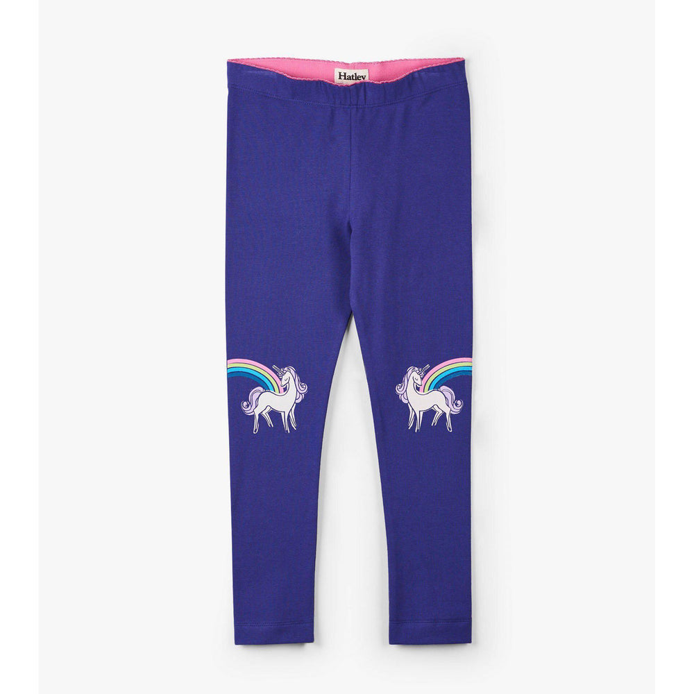 Hatley, Girl - Leggings,  Hatley Rainbow Unicorn Leggings