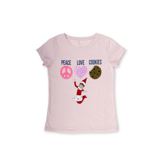 Peace Love Cookies Tee-Girl - Tees-Eden Lifestyle-XS(4-5)-Eden Lifestyle