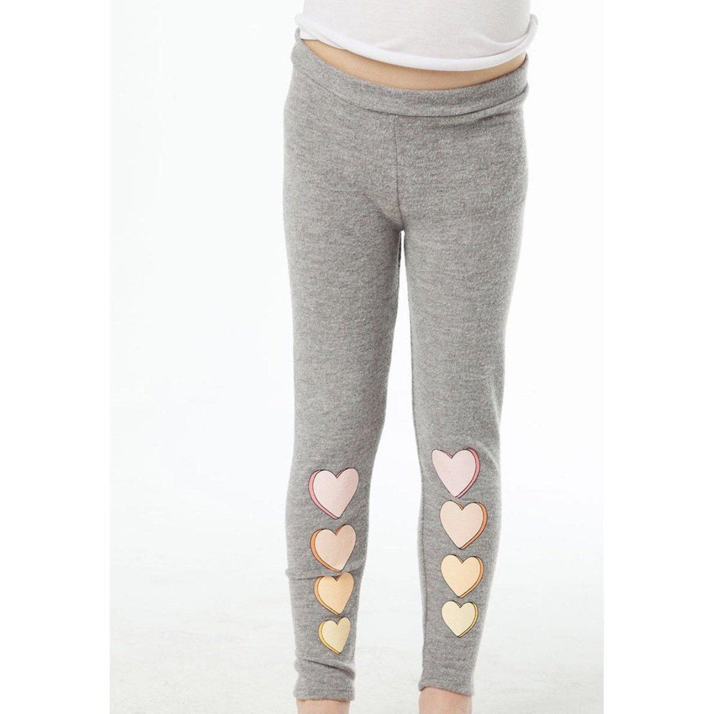 Chaser Girls Love Knit Legging-Girl - Leggings-Chaser-4-Eden Lifestyle