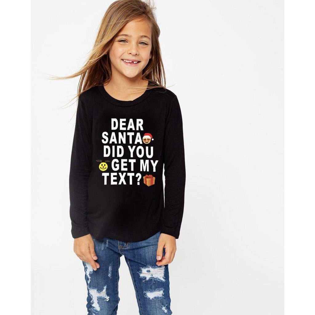 Dear Santa Top-Girl - Shirts & Tops-Eden Lifestyle-8-Eden Lifestyle