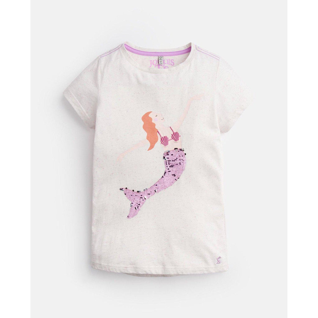 Joules Astra Pink Sequin Mermaid Top-Girl - Shirts & Tops-Joules-3-Eden Lifestyle