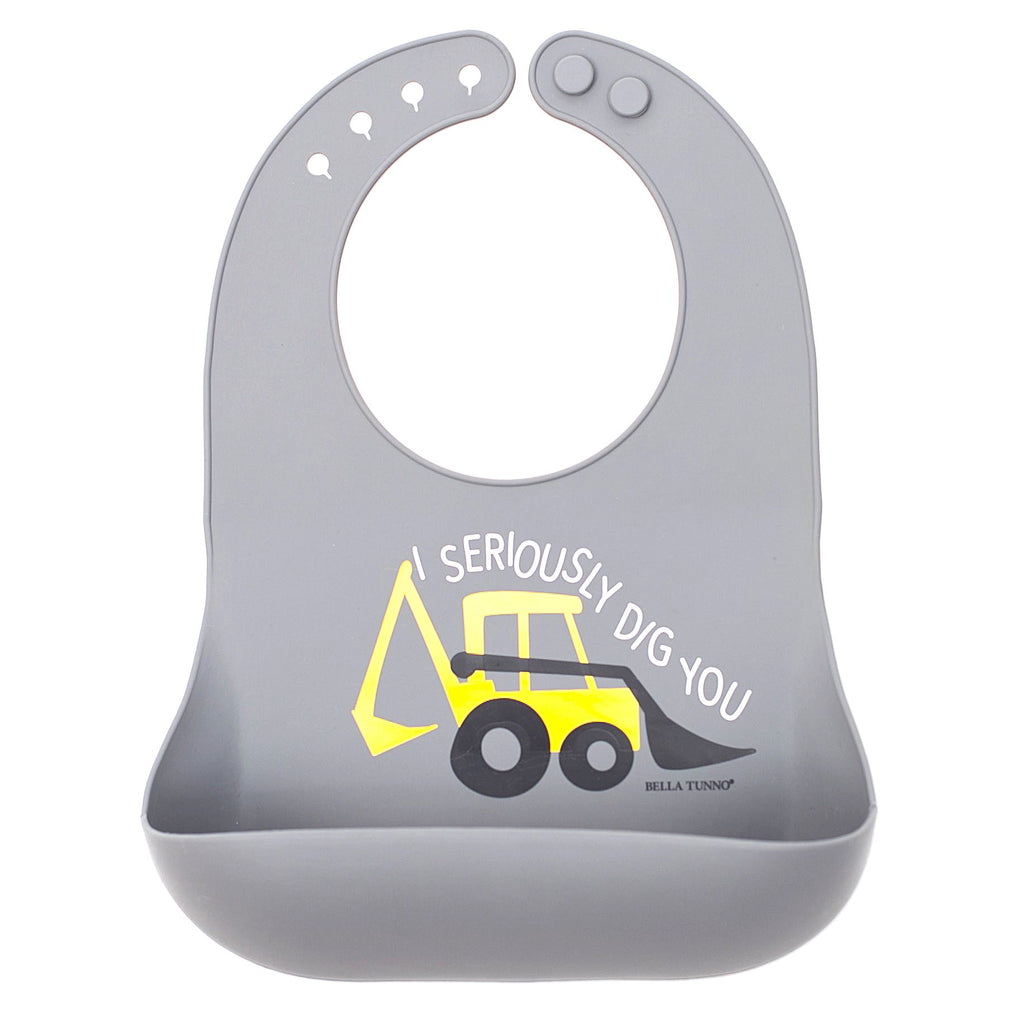 Bella Tunno Seriously Dig You Wonder Bib-Baby - Feeding-Bella Tunno-Eden Lifestyle