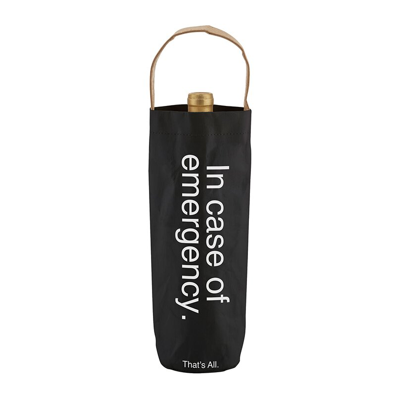 Eden Lifestyle, Home - Food & Drink,  THAT'S ALL® WINE BAG - EMERGENCY
