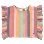 Pink Chicken, Girl - Shirts & Tops,  Pink Chicken Ingrid Top Multi Stripe