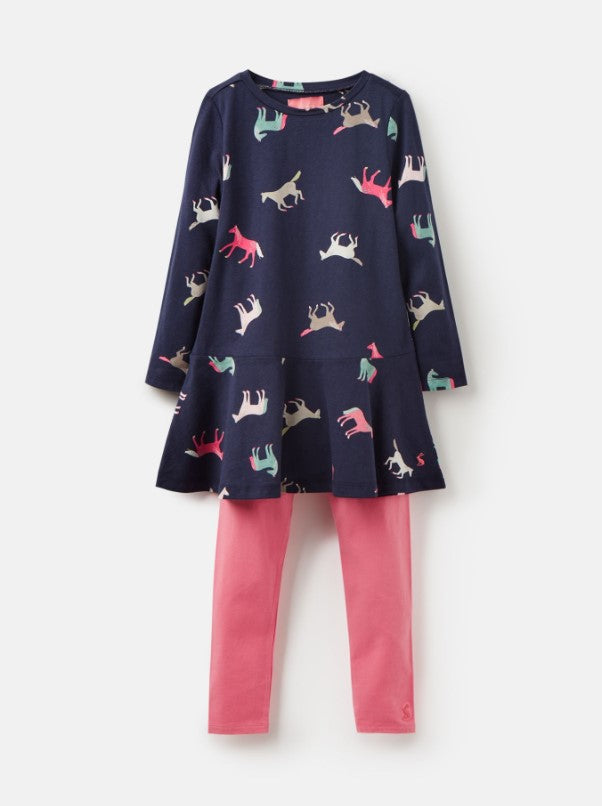 Joules Iona Navy Horse Set