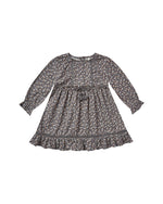 Rylee & Cru Ditsy Isabella Dress Washed Indigo