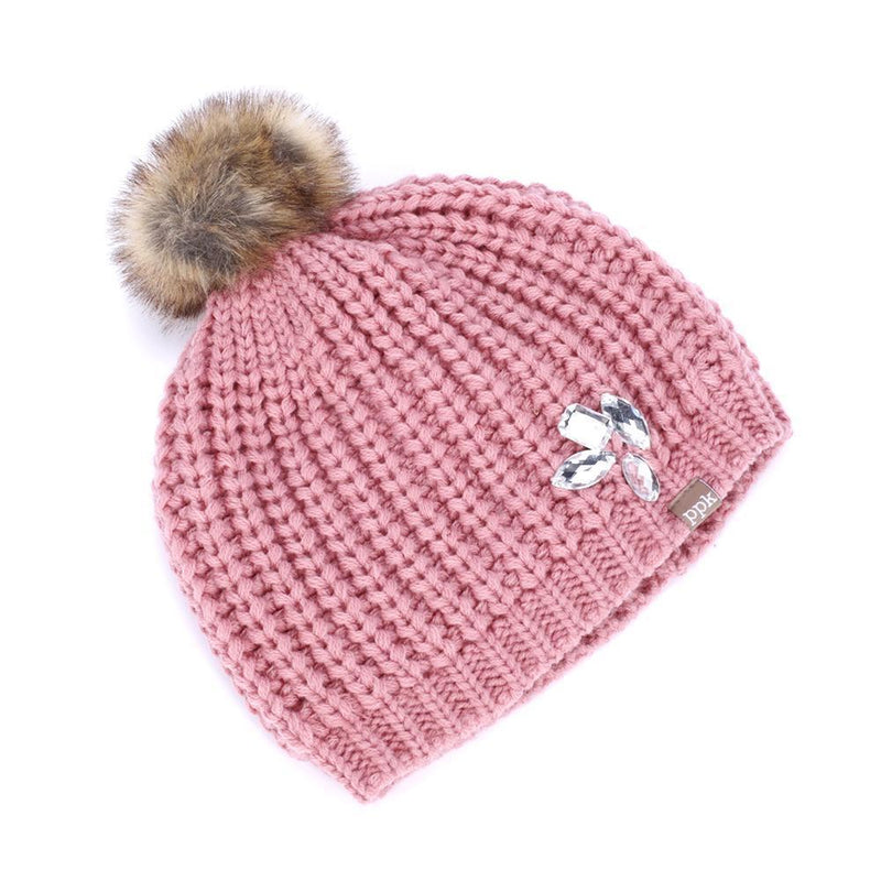 Jeweled Beanie-Accessories - Hats-Peppercorn Kids-4-Eden Lifestyle