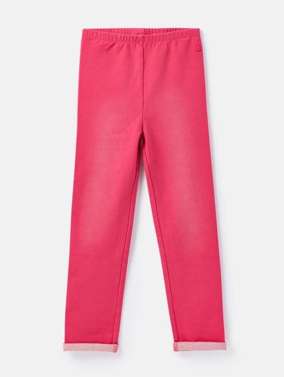 Joules Minnie Truly Pink Jersey Denim Leggings